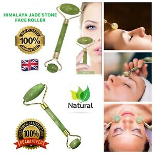 Jade Face Massage Roller Face Lifting Tool Neck Body Skin Anti wrinkle Therapy