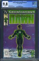 Green Lantern Emerald Dawn 1 (DC) CGC 9.8 White Pages Christopher Priest story