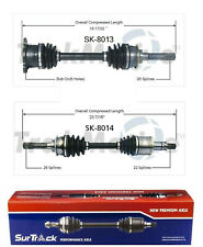 For Pontiac Sunrunner Suzuki Sidekick Pair of Front CV Axle Shafts SurTrack Set