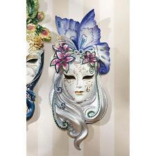 Venetian Italian Art Butterfly Masquerade Wall Mask Sculpture