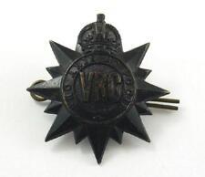 World War II era VRC / Victoria Rifles of Canada Military / Army Cap Badge