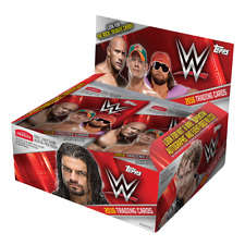 2016 Topps WWE Wrestling Factory Sealed 6 Pack Lot /  The Rock Tribute Cards