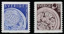 Zweden postfris 2000 MNH 2157-2158 - Horloge Koning Carl XII
