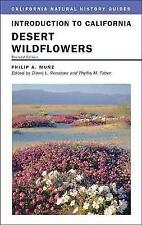Introduction to California Desert Wildflowers by Philip A. Munz (Paperback,...