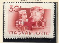 Hungary 1957 Early Red Cross Issue Fine Mint Hinged 30f. 149666