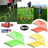 6pcs Speed & Agility Fitness Training Hurdles Aid Jump with Adjustable Height US