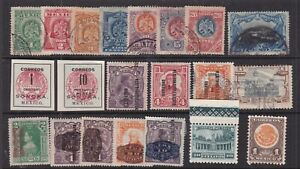 MEXICO ^^^^^# 294//719 hinged& used  Collection ( few CLASSICS) $ lar1910mex100x