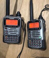2 Sumergible Yaesu vx-7r Hand-held radio Transceptor Wit's muelle de carga