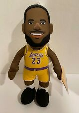 "Los Angeles Lakers LeBron James 10"" Plush Figure Doll - Officially NBA Licensed"