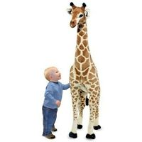Big Giraffe Stuffed Animal Giant Plush Oversized Standing Large Huge Tall Kids