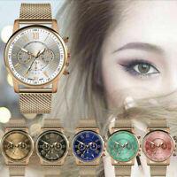 Fashion Womens Ladies Watches Bracelet Stainless Steel Analog Quartz Wrist Watch
