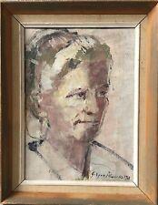 GODYCKI CWIRKO (1908-1988) PORTRAIT EINER FRAU -WOMAN - LETTLAND Latvija #2