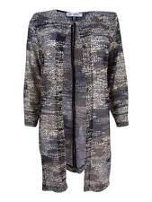 Kasper Women's Printed Flyaway Jacket (XS, Black Multi)