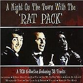 A NIGHT ON THE TOWN WITH THE RAT PACK Various DOUBLE CD/new and sealed