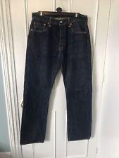 Navy Levi jeans 501 w34 l34