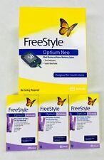 Abbott Optium Neo Freestyle Monitor + 3 Boxes Ketone Strips