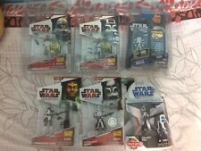 Star Wars 3.75 Lot Clone Commander Bly Fox Ponds Stone Gree Wolffe