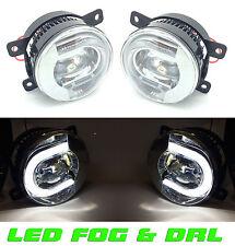 FOR NISSAN Navara D40 5/2005-> Front LED fog lights & DRL pair left & right