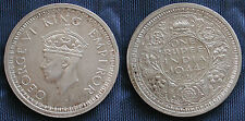 MONETA COIN MONNAIE GREAT BRITAIN BRITISH INDIA ONE RUPEE GEORGE VI° 1944 SILVER