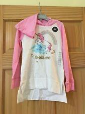 NWT Oshkosh Unicorn Tee Shirt Top Girls Long Sleeve Pink...