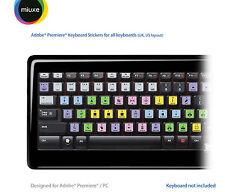 Pegatinas Teclado adobe premiere pro | todos los teclados | QWERTY Reino Unido, EE. UU.