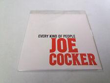 "JOE COCKER ""EVERY KIND OF PEOPLE"" CD SINGLE 1 TRACKS"