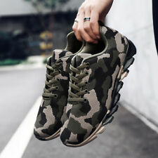Camouflage Men Running Shoes Breathable Air Athletic Outdoor Sports Sneakers