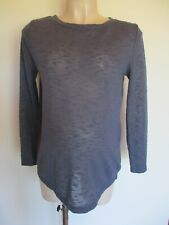 ASOS MATERNITY & NURSING BLUE DRAPE BACK JUMPER TOP SIZE 10
