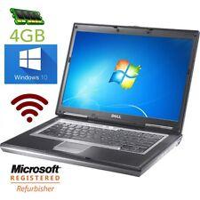 "DELL LATiTUDE D630 D620 C2D 2GHz 14"" WINDOWS 10, DVD, WiFi, 4GB RAM 14"""
