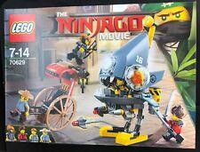 LEGO 70629 Ninjago Film Piranha Attacco Set include 4 Minifigure