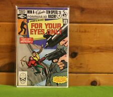 JAMES BOND - FOR YOUR EYES ONLY #2 MARVEL COMICS *BUY 1 COMIC GET 1 COMIC FREE*