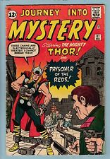 JOURNEY INTO MYSTERY # 87 GVG  EARLY THOR APPEARANCE - SOLID - 1962 - CENTS