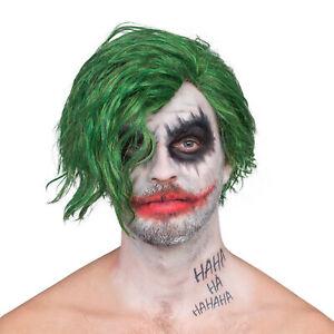 Adult Mens Killing Joke Costume Accessory Green Deluxe Wig