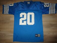 Barry Sanders #20 Detroit Lions NFL Reebok Jersey Medium M mens