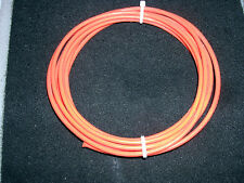 10 AWG  MIL SPEC (M16878/4 XE)  PTFE  TEFFON SILVER PLATED WIRE  10 FEET ORANGE