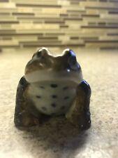 Nice Vintage Ceramic Toad/Frog Lifelike Realistic 2.5�