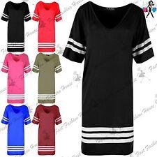 Unbranded V-Neck Striped Dresses for Women