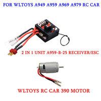 2 in 1 Unit A959-B-25 Receiver/ESC , Motor For WLtoys A959 A969 A979 RC Car Part