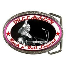 Bill Haley - Rockabilly - Rock n' Roll Legend - Chrome/Enamel Belt Buckle