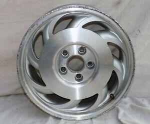 "Aluminum Wheel 17"" x 9.5"" Rim REAR LH Drivers 1993 OEM C4 Corvette - ORIGINAL"