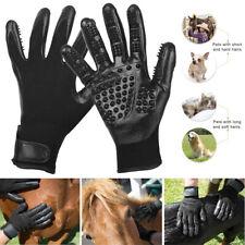 Pet Dog Cat Horse Shedding Massage Cleaner Grooming Gloves Brush Hair Remover