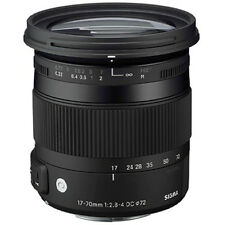 Sigma 17-70mm f/2.8-4 DC Macro OS HSM Zoom Lens for Canon 4 YEAR USA WARRANTY