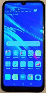 Huawei Y6 2019 MRD-LX1- 32GB - Dark blue  (Unlocked) Smartphone