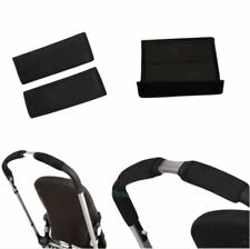 Black soft Fabric Handle Cover Chassis To fit your CHICCO baby strollers Black