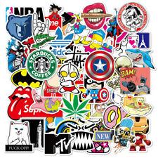 100X Cool Vinyl Decal Graffiti Sticker Bomb Car Skate Laptop PVC Stickers Decals