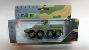 Herpa 745130 - 1/87 Gtk Boxer Transport Vehicle - Non-Decorated - Military Green