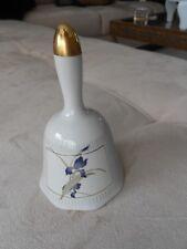 "Grand Iris Bell By Otagiri/Japan-Vg Condition-5"" High"