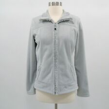 The North Face Jacket Womens Fleece Morningside Full Zip S Small Light Gray