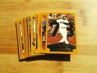 2002 Topps Baseball San Francisco Giants TEAM SET w/ Bonds Homerun 73