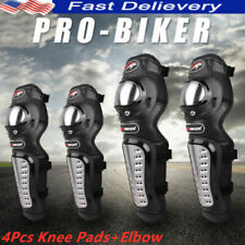 Motorcycle Knee Protectors Elbow Pads Dirt Bike Motocross Guards Protective Gear
